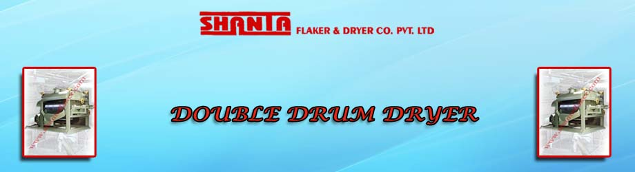 Double Drum Dryer